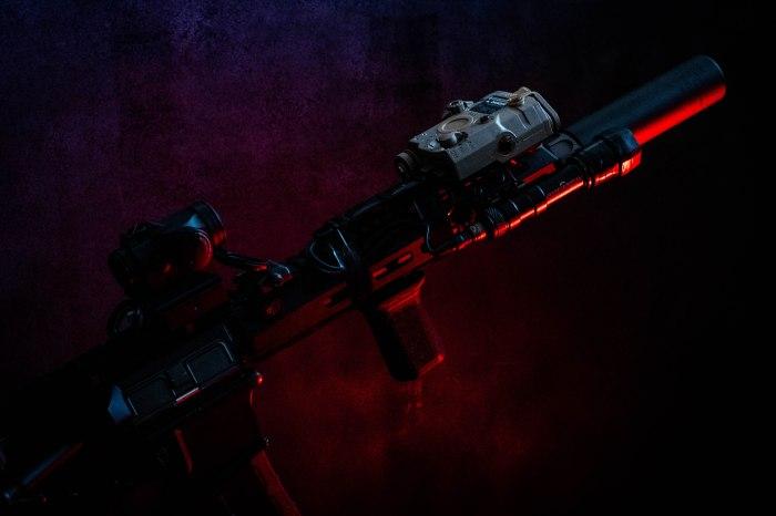 Angry gun MCMR