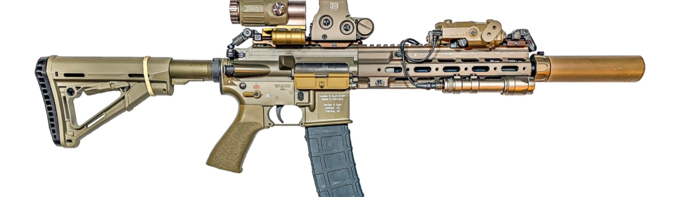 the pizza surfers hk416 with a stendo mag