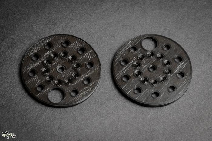 roto loader lids side by side comparison of damage