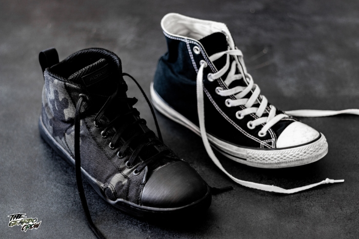Altama OTB Maritime Assault shoes compared to converse