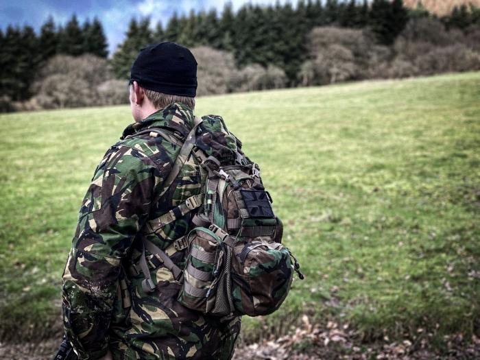 platatac bullock echo mk3 in woodland