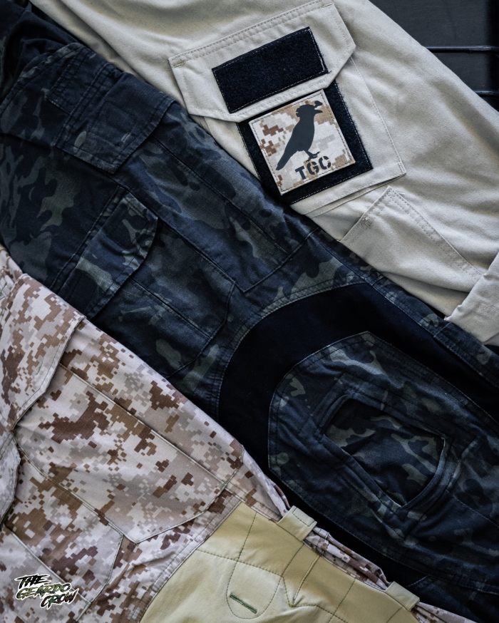 Paraclete combat shirt, mcb g3's and mk3 dax aor1s