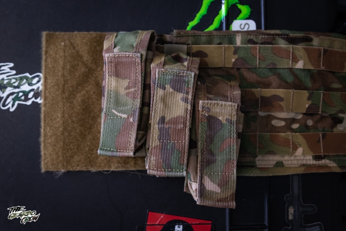 c2r flashbang pouches in the 3 different ride heights