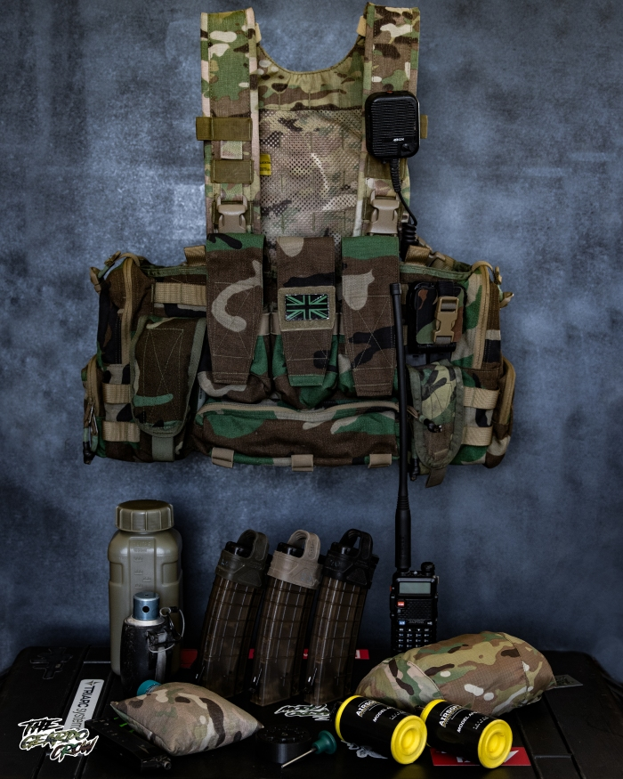 platatac peacekeeper with all the gear that it carries