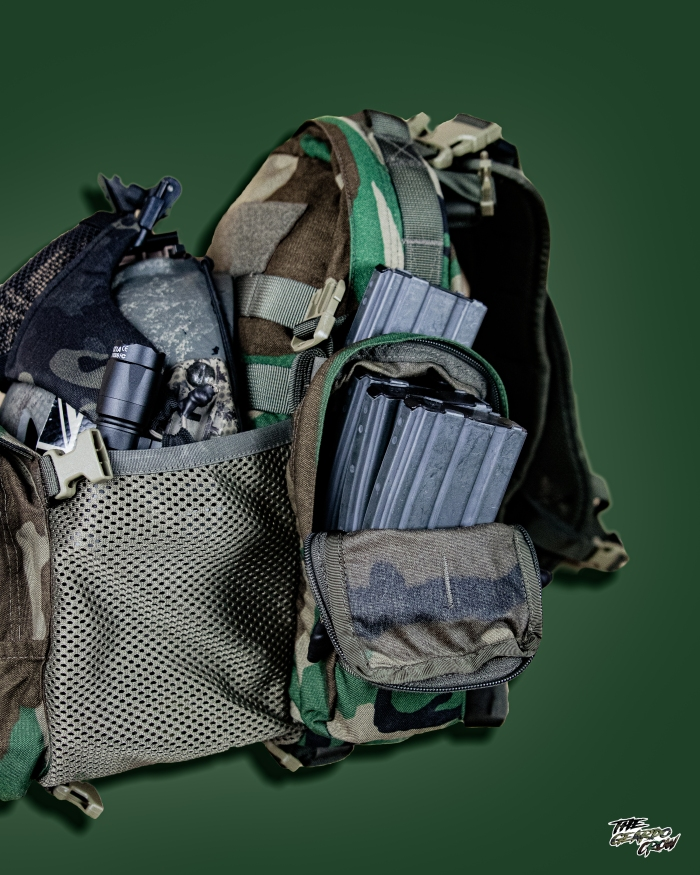 Platatac bullock echo side pouches/sleeves