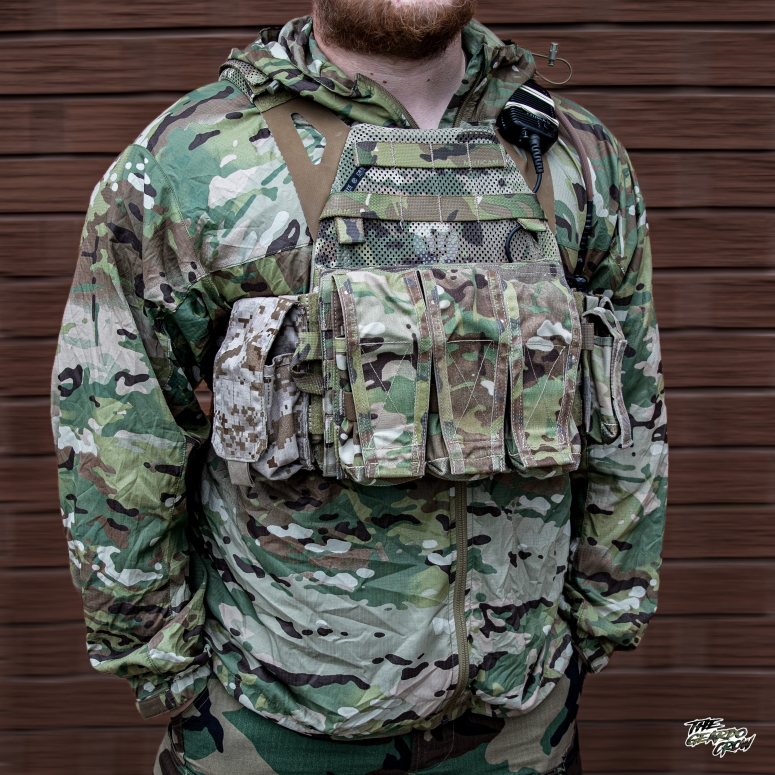 TGC wearing his crye JPC 2.0 with swimmer cut plates in