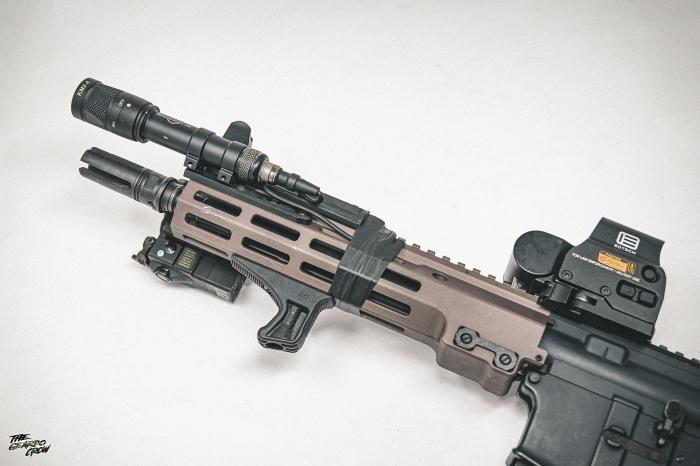 HAO MK16  Handguard overview
