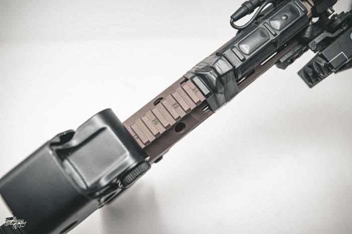 HAO MK16  Handguard rail markers