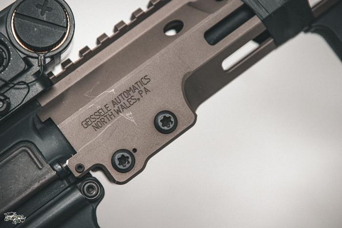 HAO MK16 Handguard engravings