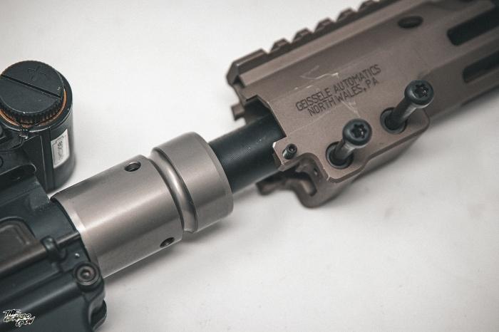 HAO MK16  Handguard barrel nut