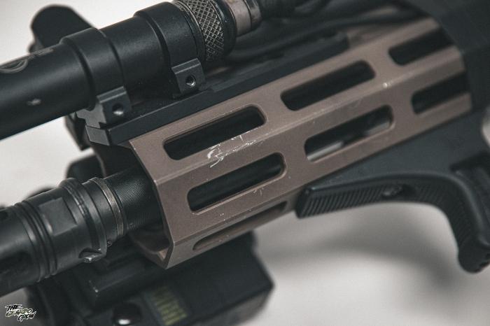 HAO MK16  Handguard scratches