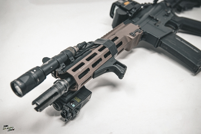 HAO MK16 Handguard from the front
