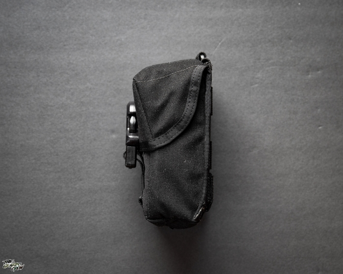 Platatac Tactical Electronics Pouch side view
