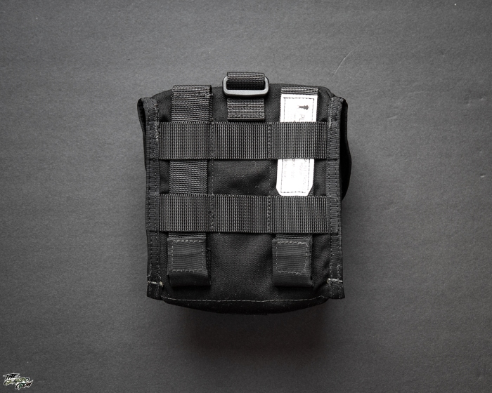Platatac Tactical Electronics Pouch rear view