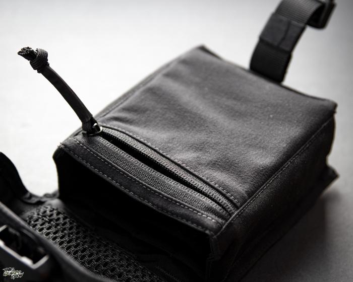 Platatac Tactical Electronics Pouch YKK zip