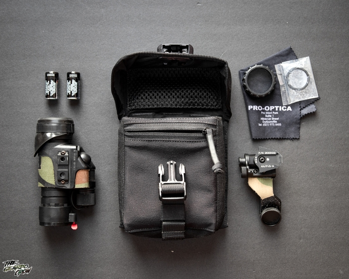 Platatac Tactical Electronics Pouch NVG contents