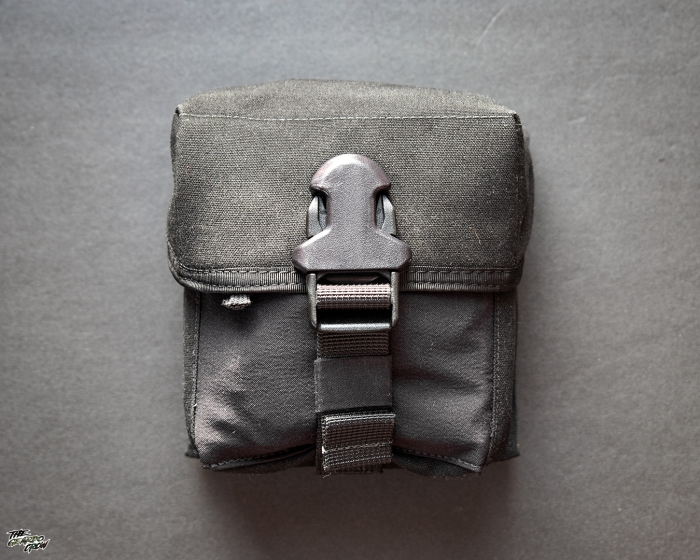 Platatac Tactical Electronics Pouch packed