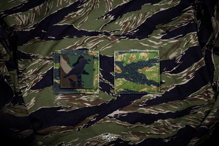 Full9patches vajra concepts camo plates tigerstripe