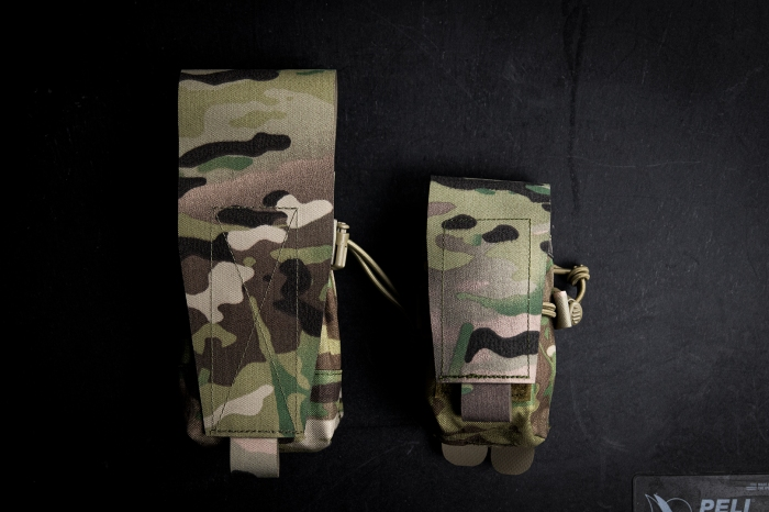 Platatac HW smoke grenade pouch and double m4 side by side